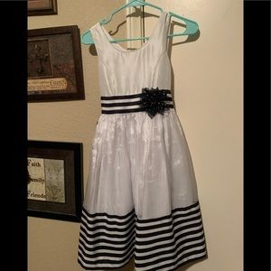 Adorable Blue & White Dress